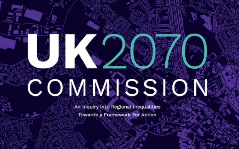 UK2070 Commission Logo