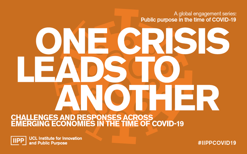 IIPP COVID-19 Event Series One Crisis Leads to Another
