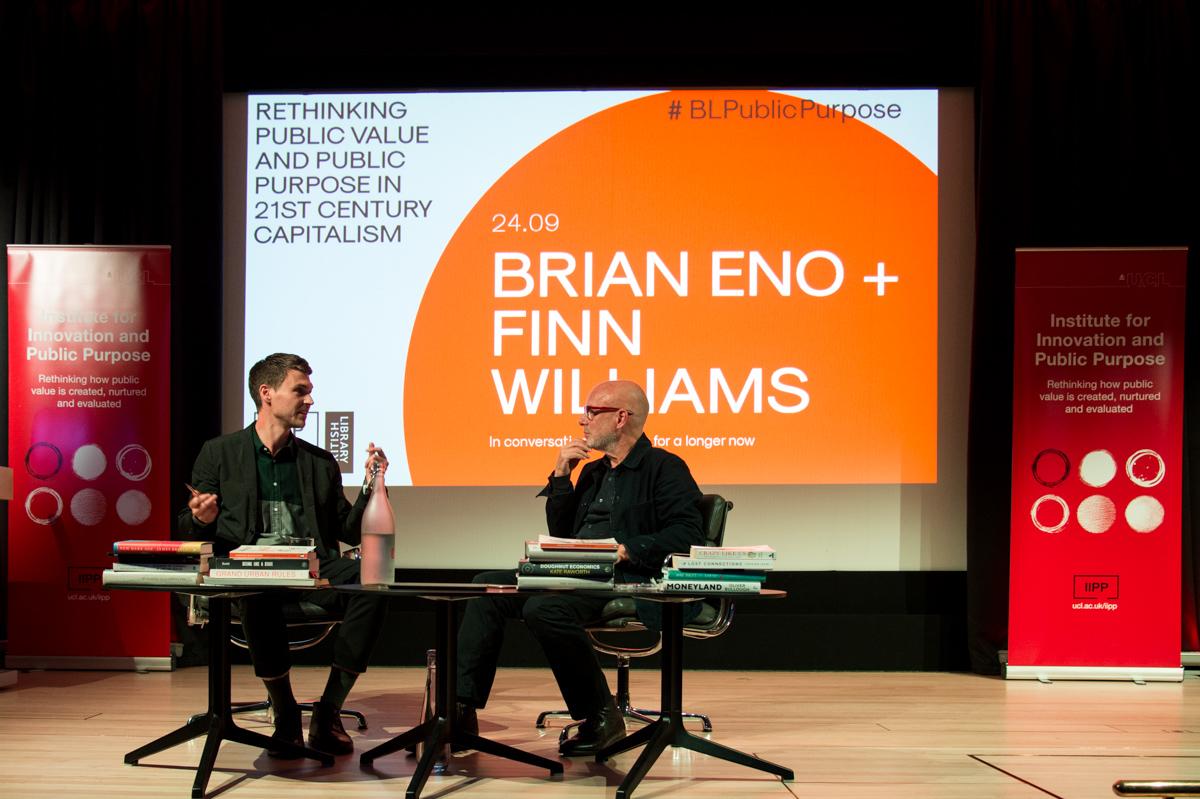 British Library lecture - Brian Eno & Finn Williams