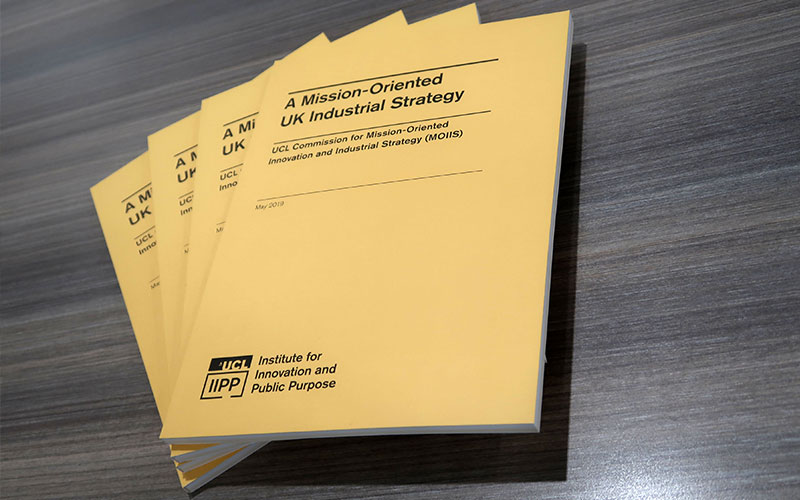 A Mission-Oriented UK Industrial Strategy report
