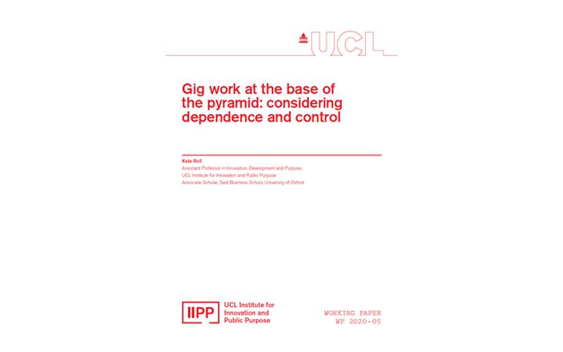 IIPP working paper 2020-05 Kate Roll