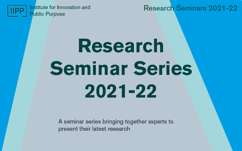 Placeholder poster for the Research Seminar Series 21-22