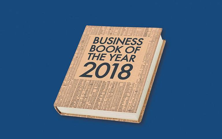 2018 Financial Times and McKinsey Business Book of the Year Longlist