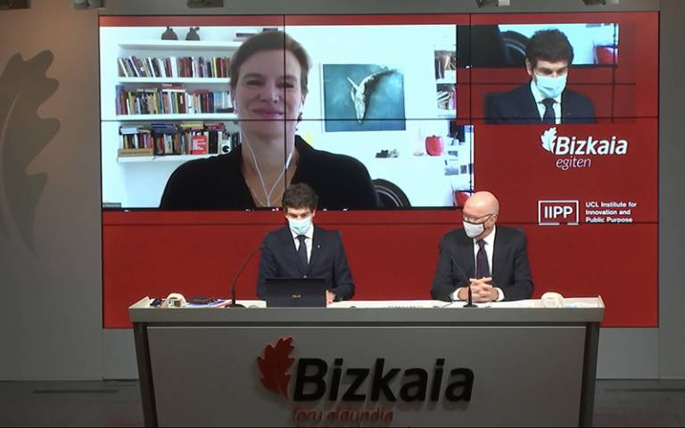 Biscay press conference
