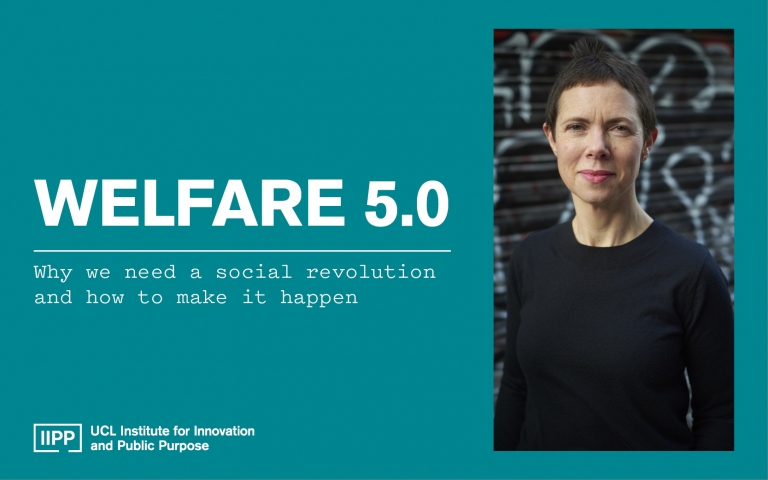 Welfare 5.0 event with Hilary Cottam
