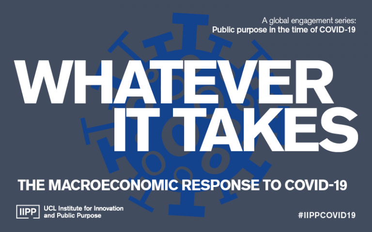 Whatever it takes: The macroeconomic response to COVID-19