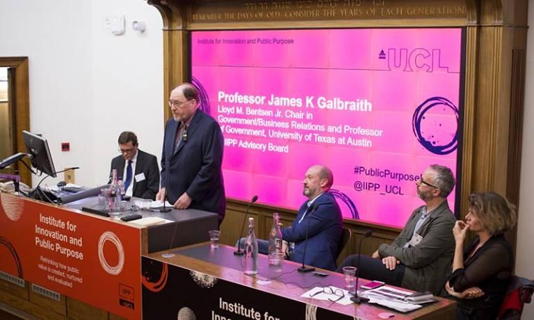James K Galbraith