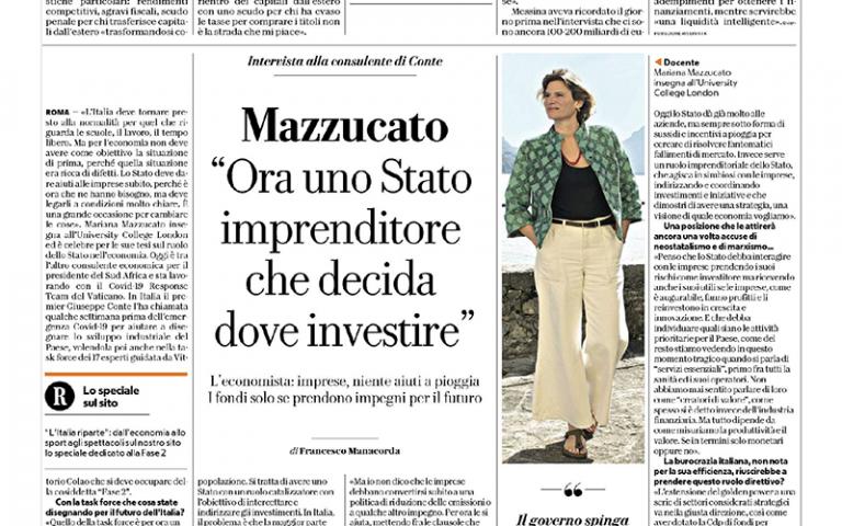 La Repubblica_interview_spread