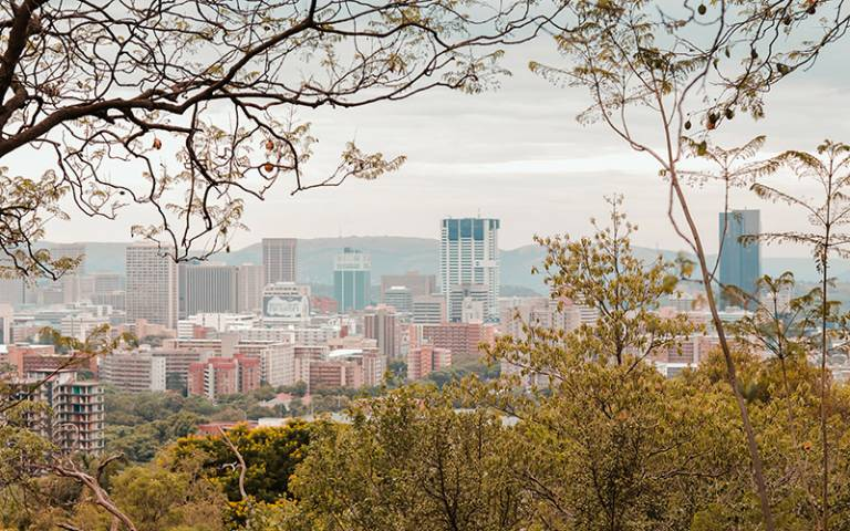 A view of Pretoria Central Business District - South Africa