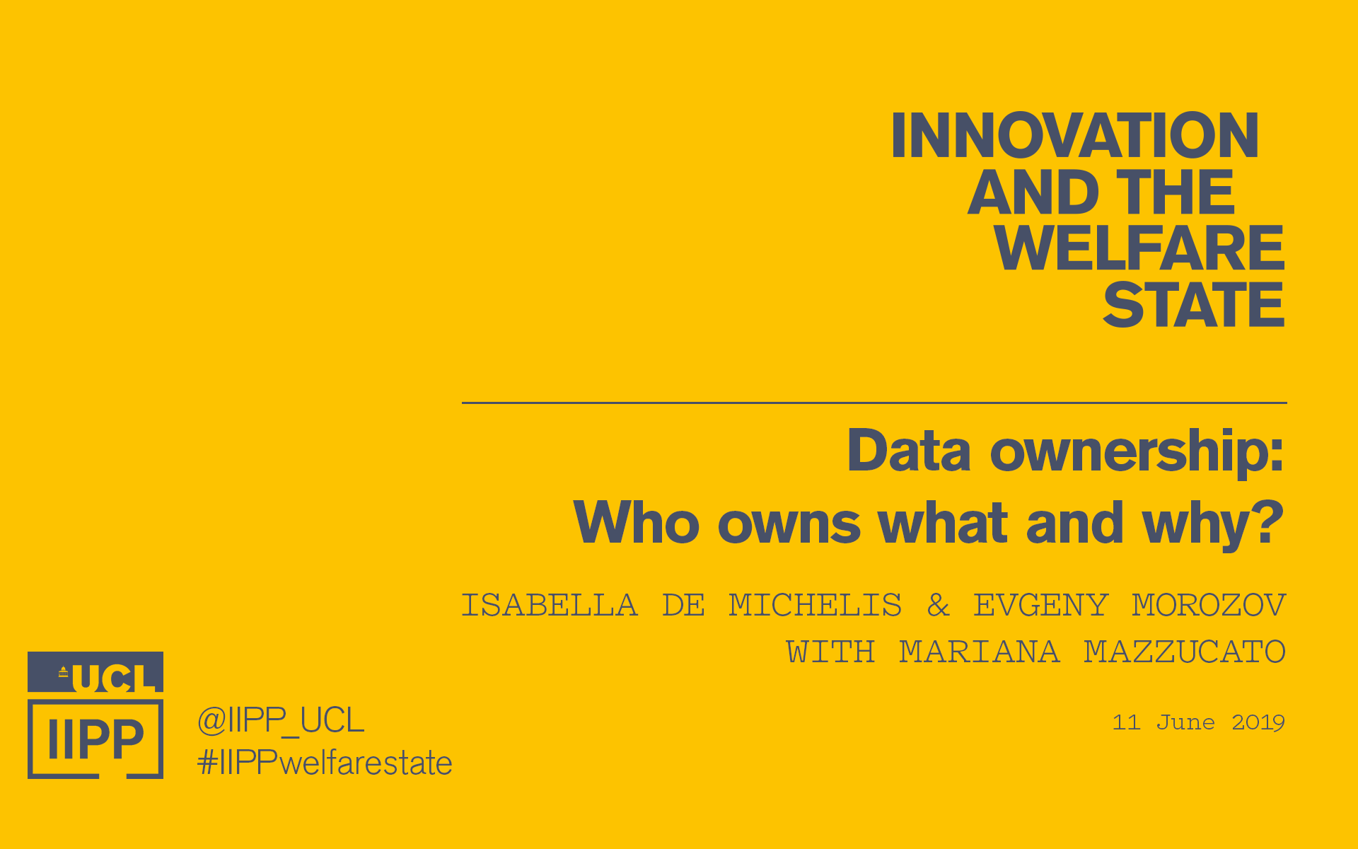 Data ownership event