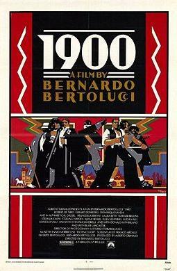 1900 by Bertolluci film poster