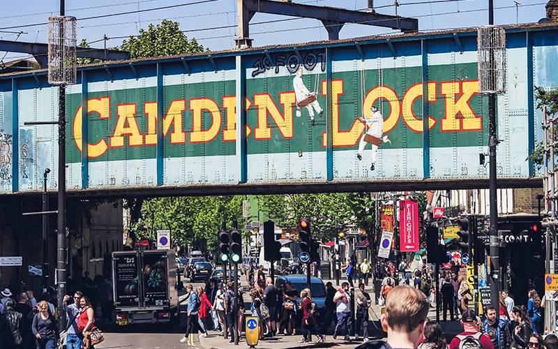Camden Locks bridge