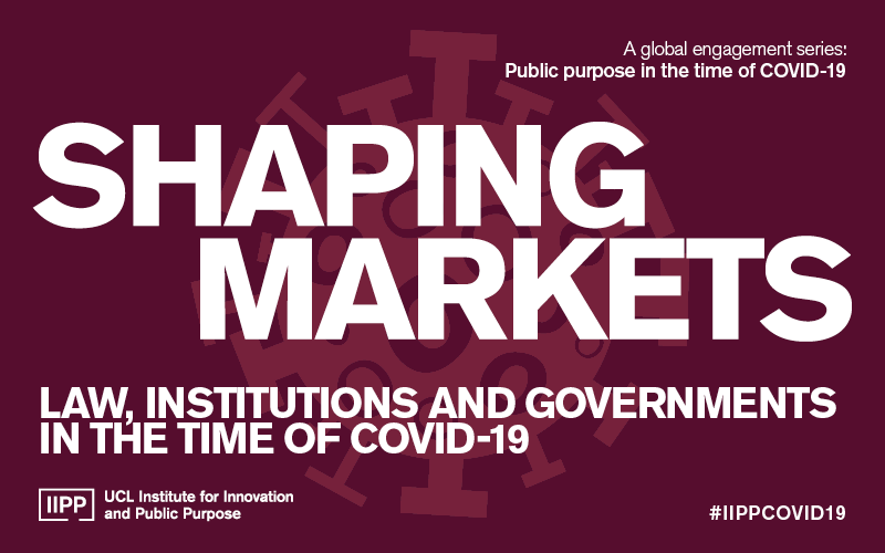 IIPP COVID-19 Event Series Shaping Markets