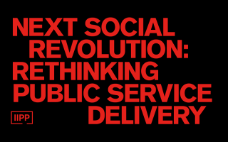 Next social revolution: rethinking public service delivery