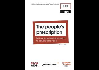 People's prescription report cover