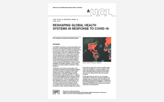 03 Reshaping Global Health Systems in Response to COVID