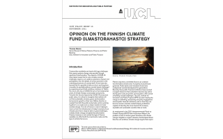 Finnish Climate Fund Front Cover
