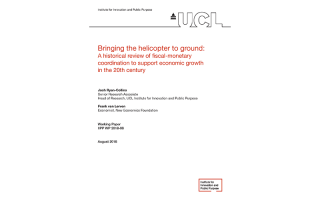 Bringing the helicopter to ground: A historical review of fiscal-monetary coordination to support economic growth in the 20th century