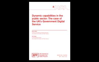 IIPP WP 2021-01 Dynamic capabilities in the public sector