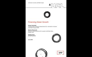 Financing green growth