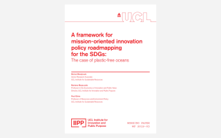 A framework for mission-oriented innovation policy roadmapping for the SDGs