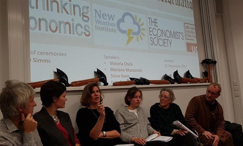 IIPP debates an economics reformation
