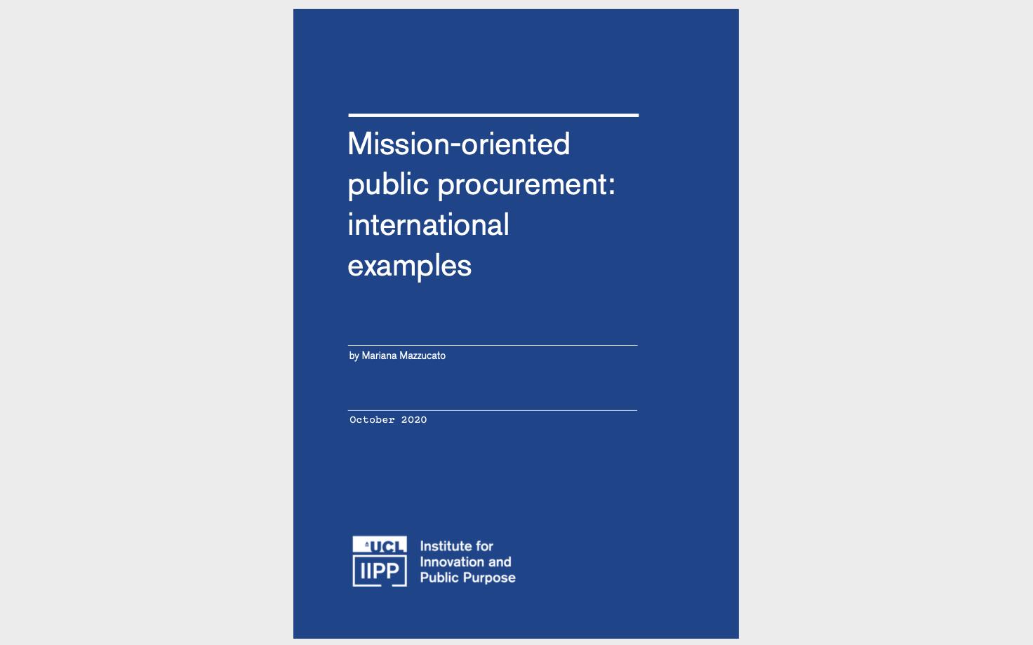 mission paper