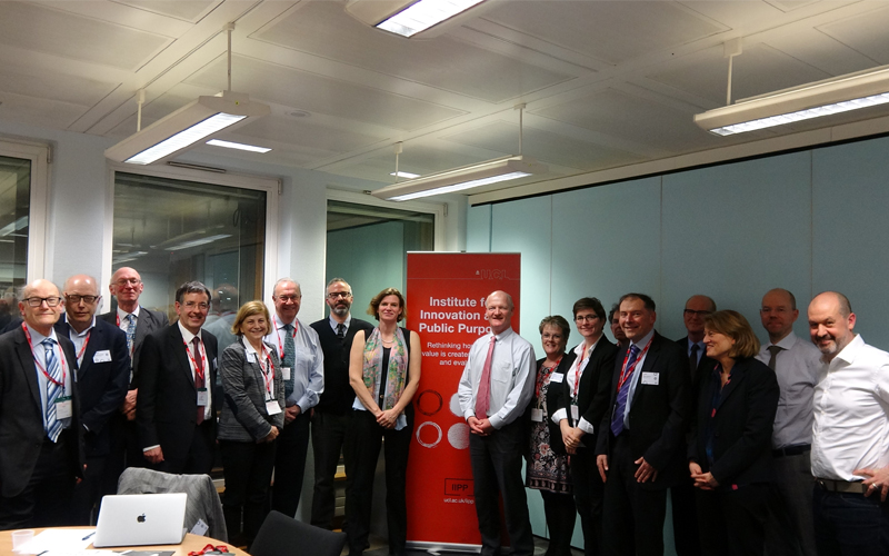 UCL Commission on Mission-Oriented Innovation and Industrial Strategy - first meeting 1 March 2018