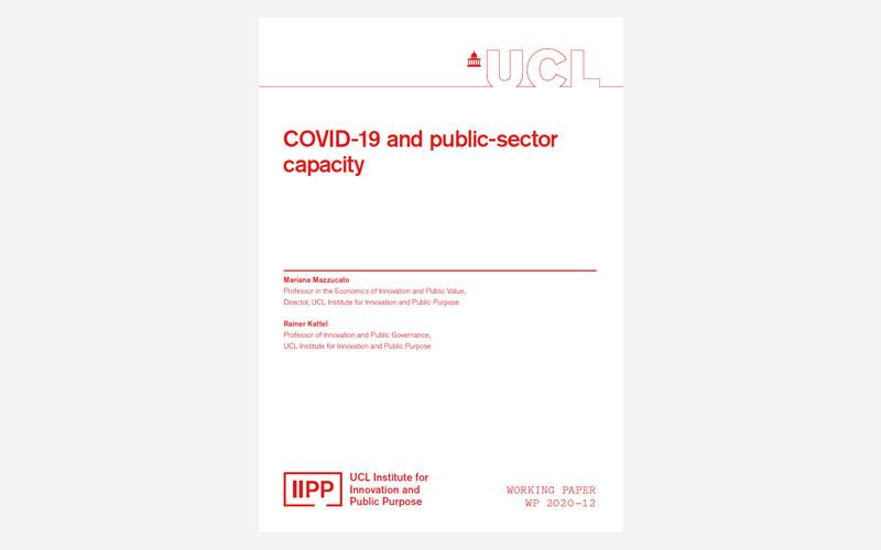 IIPP WP 2020-12 COVID-19 and public sector capacity