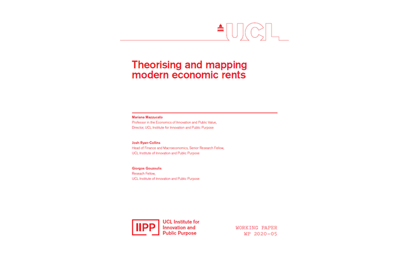 Theorising and mapping modern economic rents