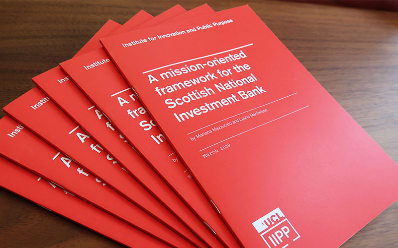 A mission-oriented framework for the Scottish National Investment Bank