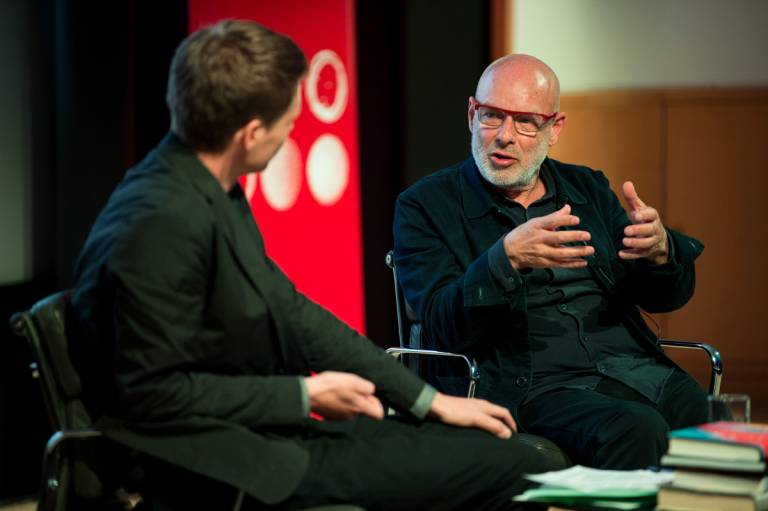 Brian Eno at the British Library