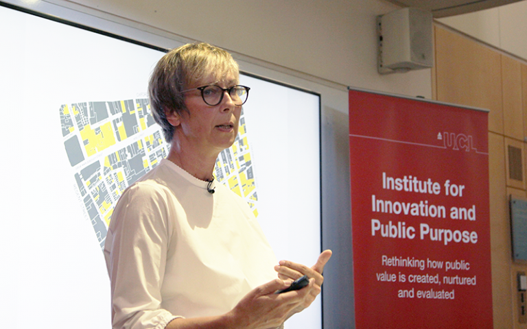 Lucy Musgrave talks on the interlinking of spatial, social and cultural conditions within the urban fabric