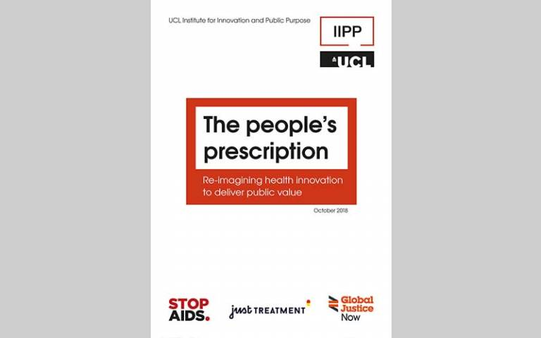 The people's prescription: Re-imagining health innovation to deliver public value