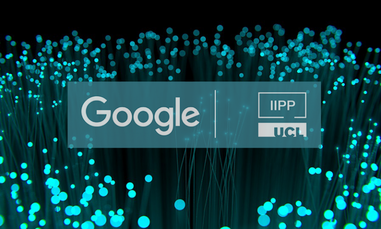 Fibre optic cable Google IIPP event