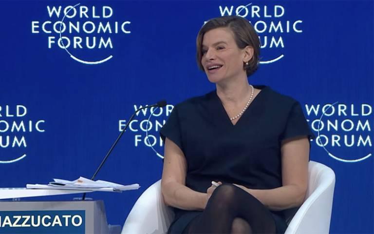 Mariana Mazzucato on WEF19 panel