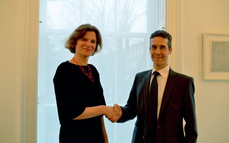 Mariana Mazzucato and Tom Coutts