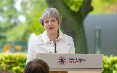 PM Theresa May Industrial Strategy speech