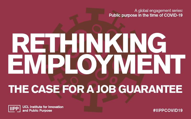 Rethinking unemployment