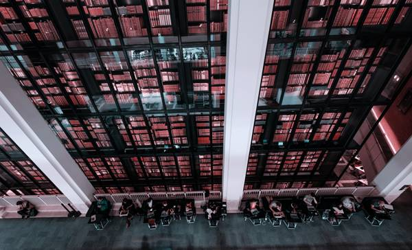 The British Library by Kevin Grieve on Unsplash
