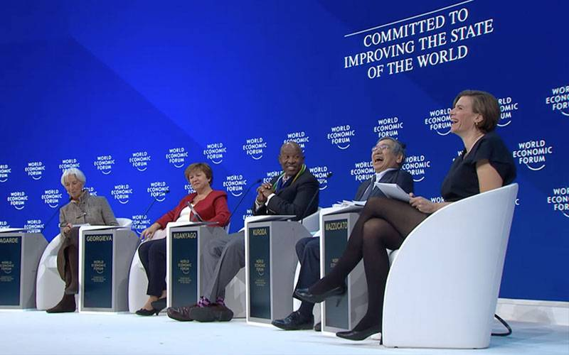 Friday panel at WEF19