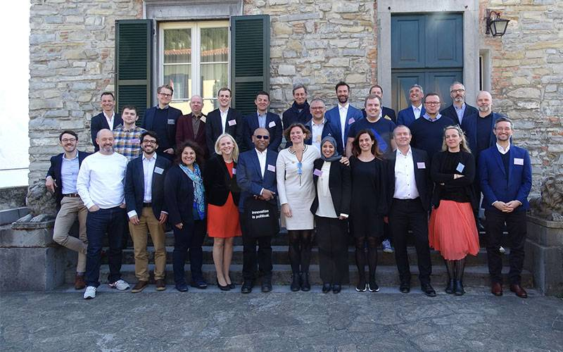MOIN members in Bellagio at annual meeting, March 2019