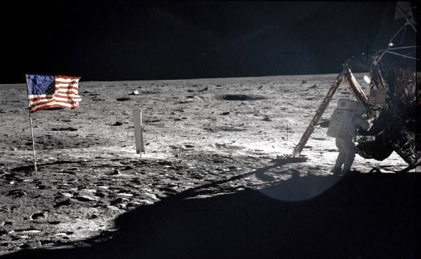 Neil Armstrong On The Moon. Photo courtesy of NASA