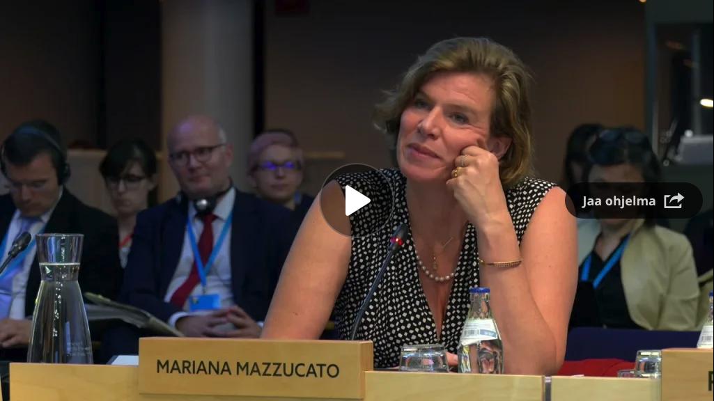 Mazzucato EU Commission keynote speech