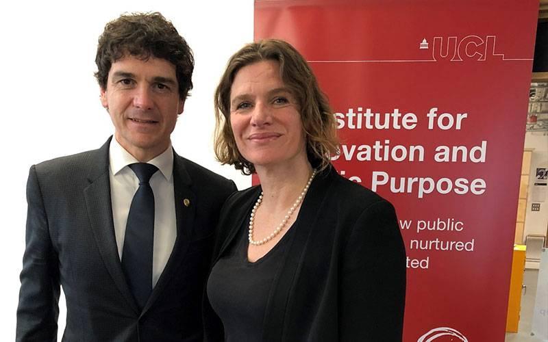Unai Rementeria and Mariana Mazzucato