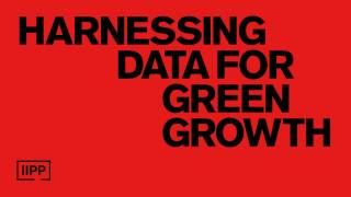 Harnessing data for green growth