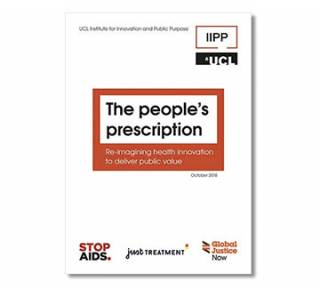 The people's prescription: Re-imagining health innovation to deliver public value report