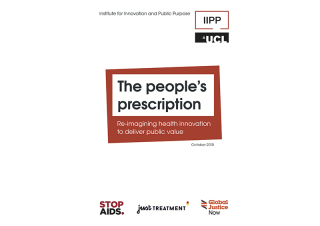 People's prescription report cover