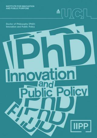 PhD in Innovation and Public Policy flyer