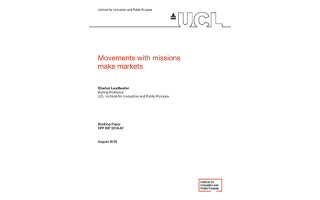 Movements with missions make markets